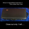 Kenny G Black Nickel Alto sax Case